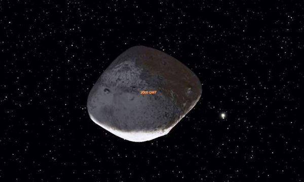 La sonda Osiris-Rex saluta l'asteroide Bennu