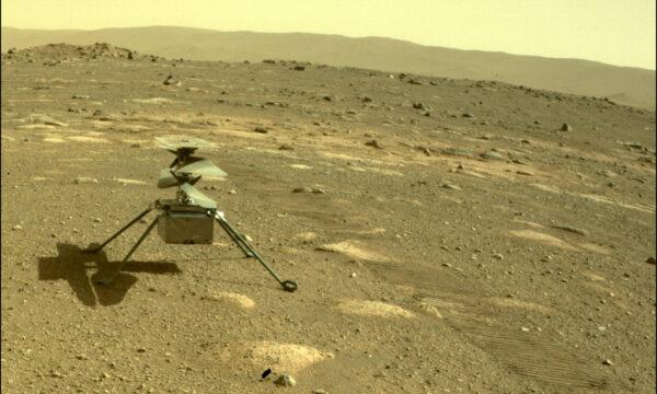 Il primo volo su Marte di Ingenuity